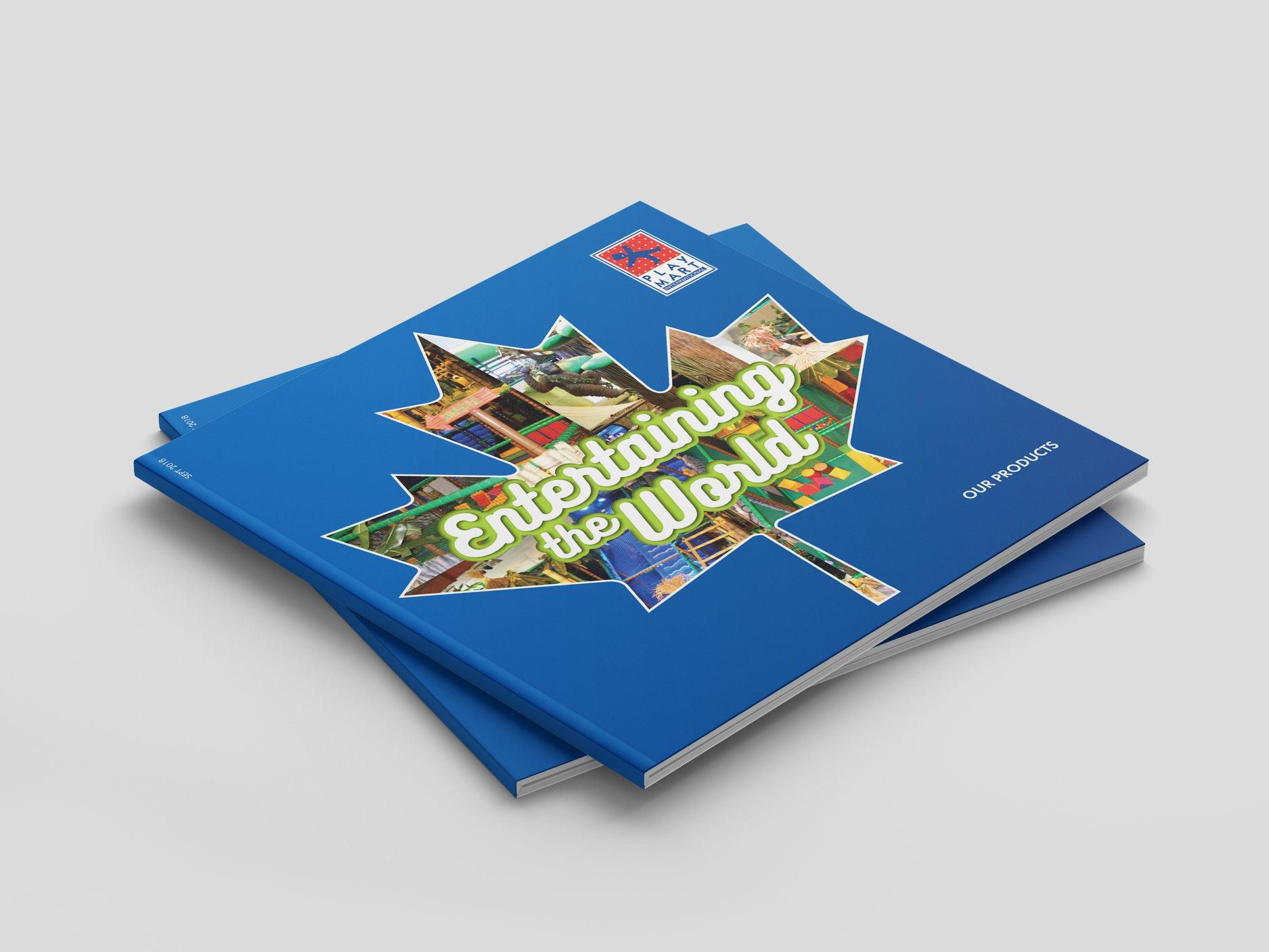 Изработка на брошура за Play Mart