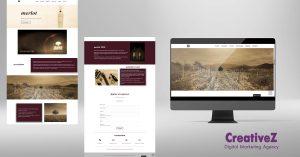 Изработка на сайт за бутиково вино